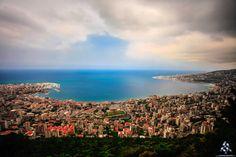 #Jounieh looks like a painting <3 #جونية كأنها لوحة By Mohamad Kobeissi - Mike Kobi Photography  #Lebanon #WeAreLebanon
