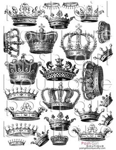 Crowns - great place to buy this crown sheet when I need it - etsy...http://www.etsy.com/listing/60604787/crown-me-collage-sheet?ref=sr_gallery_2ga_search_submit=Searchga_search_query=poshgirlboutiquega_view_type=galleryga_ship_to=GBga_search_type=handmadega_facet=handmade