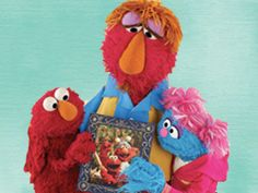 Sesame street for military children. The video has the pre-deployment, during and homecoming in one. They don't stay in each subject for too long. Thank goodness too! The kids watched this for the first time today and they think it is a cute show while I am crying my eyes out. I like this video and site. *We watch this with the girls, every deployment.  Wonderful!