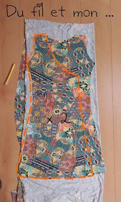 Du fil et mon...: Robe Porte-feuille : DIY