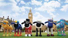Shaun the Sheep trail London