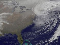 NASA's GOES 13 Spacecraft Captures Startling Image of Deadly Nor'Easter