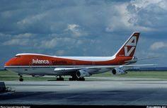 Avianca B-747 1970 Livery