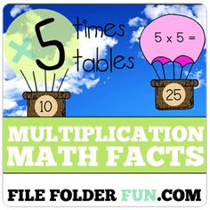 Learning the times tables is a daunting task! It takes repetition, more repetition, and even more repetition to really get those numbers ingrained in our heads. Due to this repetitiveness, math facts are often perceived as boring or even unnecessary by children who have simply had enough of the worksheets and flash cards. Using file …