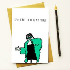 When you want to drop a subtle hint. | 27 Borderline Offensive Cards To Give To Your Best Friend