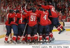 Hockey!!!  Washington Capitals C-A-P-S Caps! Caps! Caps!
