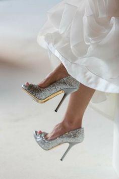 Stiletto Heels, High Heels, Shoes Heels, Wedding Pumps, Prom Heels, Sexy Heels, Atlanta Wedding, Glass Slipper, Silver Glitter