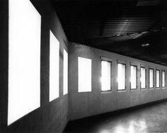 Michel Verjux, Passage / éclairage, 1987