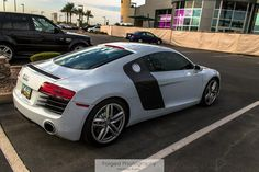 White Audi R8 | Forged Photography