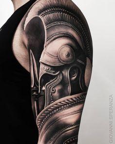 Search inspiration for a Realistic tattoo. Viking Tattoo Sleeve, Tribal Sleeve Tattoos, Best Sleeve Tattoos, Viking Tattoos, Hand Tattoos, Norse Tattoo, Geometric Tattoos, Schulterpanzer Tattoo, Paar Tattoo
