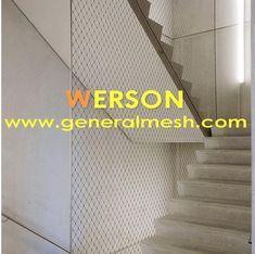 Hebei General Metal Netting Co.,ltd   China Factory Mesh Infill Balustrade,