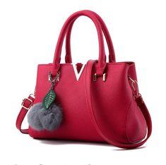 V Brands Soft PU Leather Handbag Purse (6 colors)