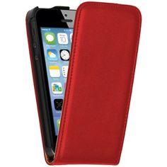 OneFlow PREMIUM - Flip-Case - für Apple iPhone 5 / 5S - ROT