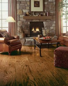 Armstrong Oak Engineered Hardwood Flooring in Cimarron.