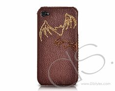 Halloween Bling Swarovski Crystal Phone Case - Bat  http://www.dsstyles.com/iphone-4-cases/swarovski-series-maple-leaf-swarovski-crystal-phone-case-harmonized.html
