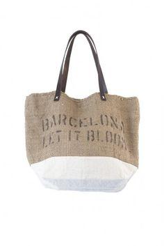 Bolso saco Barcelona Let it Bloom