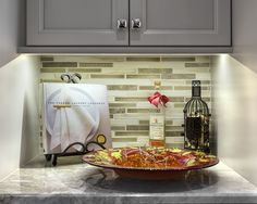 Warm White LEDs offer superior color rendering and enhanced color to artfully display unique dishes while providing enough illumination to read recipe books with ease | Under Cabinet Lighting Idea | Soft Strip SS2 - by Edge Lighting