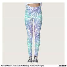 cce5c304b4d168 Pastel Ombre Mandala Pattern American Flag Stars, Mandala Pattern, Leggings  Are Not Pants,