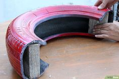 How to Make a Tire Rocker: 12 Steps (with Pictures) – ЮЛИЯ – Cat playground outdoor