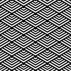 Seamless geometric pattern rnrnSource by Textile Pattern Design, Pattern Art, Graphic Patterns, Print Patterns, Geometric Sleeve Tattoo, Graphic Design Lessons, Motif Art Deco, Blackwork Patterns, Simple Wall Art