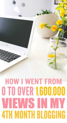 How her blog went from 0 to over 1,600,000 views in just 4 months are THE BEST! I'm so glad I found these AWESOME tips! Now I can get a ton of views to my blog! Definitely pinning for later!