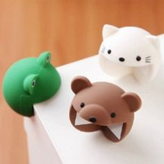 Logical 4pcs Cartoon Silicone Anti Horn Angle Protection Cover Collision Children s Safety Anti Collision Buffer Door Handle Anti
