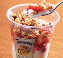 Easy, delicious and healthy panera bread granola serving recipe from SparkRecipes. See our top-rated recipes for panera bread granola serving. No Dairy Recipes, Other Recipes, Copycat Recipes, Greek Yogurt Parfait, Post Workout Food, Workout Meals, How To Store Bread, Smart Snacks, Parfait Recipes