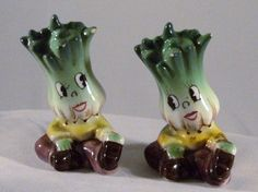 Vintage Kitschy Salt and Pepper Shakers