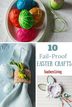 10 Fail-Proof Easter Crafts | Add a little pastel pep to your holiday with our favorite (and completely doable!) crafts.