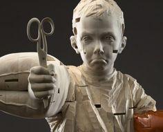 Gehard Demetz, étonnant sculpteur sur bois