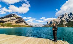 The quaint heritage buildings lining Banff Avenue appeared to shrink as we drove into the buzz of the town; the iconic crags of the Rocky Mountainsrising up behind them. We dividedour stay in this beautiful