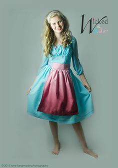 Cinderella 2015 Movie Work Dress or peasant Dress Costume for Girls Here is our second dress from our Ella Collection in celebration of all
