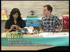 Arte Brasil   Tapete Felpudo com Flores em Crochê   Maria José