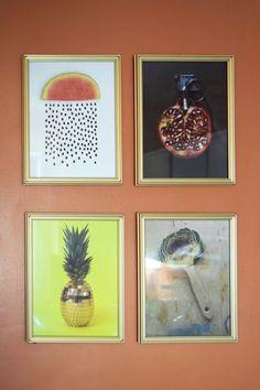 that watermelon pic! Jenni & Esai's Aesthetics of Geometry