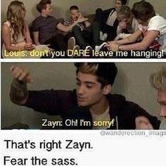 Fear Louis's sass
