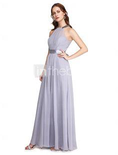 2f5c3a3667c TS Couture® Επίσημο Βραδινό Φόρεμα - Κομψό Γραμμή Α Ζιβάγκο Μέχρι τον  αστράγαλο Σαρμέζ με