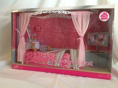 "2007 Barbie Expand ""My House"" Bedroom! Great Condition Mattel Original Pc's VHTF 