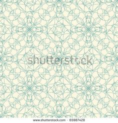 floral lattice in art nuvo style