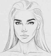 Resultado de imagen para how to draw a face