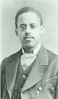 Lewis Latimer, 1882, a son of a former slave, born in 1848. In 1863 he lied about his age so he could enlist in Union Navy during the Civil War. After the war, he moved to Boston and learned drafting. He drew technical figures for Alexander Graham Bell's telephone patents. In 1885 Thomas Edison hired him. He received patents for improvements in electrical lighting and refrigeration systems. In 1918 he was named an Edison Pioneer, the only African American who was bestowed with that honor.