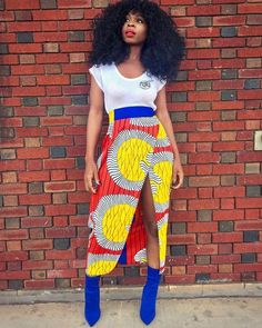 African American Fashion Blazer And Skirt African Print Skirt, African Print Dresses, African Fashion Dresses, African Dress, Ankara Fashion, African Prints, African American Fashion, African Print Fashion, Fashion Prints