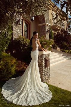 galia lahav 2014 bridal collection maddona wedding dress open back