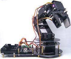 Arduino 6 DOF Programmable Clamp Robot Arm Kit