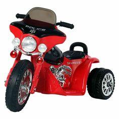 👉🚲 Triciclo eléctrico para niños - Bicicletas eléctricas Chopper, Police, Motorcycle, Unique, Products, Home, Bicycles, Motorbikes, Steel Racks