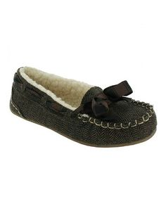 Take a look at this Brown Twinings Tweed Regan Slipper by Rocket Dog on #zulily today!