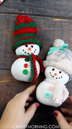 Christmas Art Projects, Christmas Ornament Crafts, Xmas Crafts, Christmas Fun, Christmas Presents, Sock Crafts, Christmas Crafts For Adults, Santa Ornaments, Thanksgiving Crafts