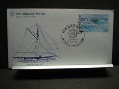 Sloop-Yacht FANNY Naval Cover 1977 FLEETWOOD Cachet MONACO