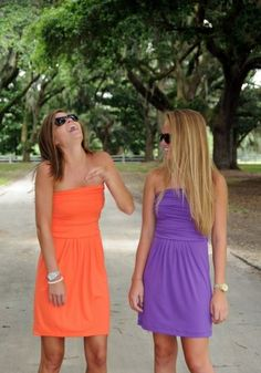 Katie Dress #gameday #clemson #tigers