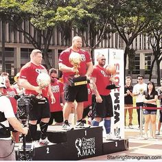 World Strongest Man 2015 results and videos (via startingstrongman.com)
