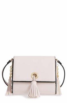 6120dd0ef3ec Mini Tassel Crossbody Leather Crossbody Bag
